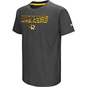 Colosseum Youth Missouri Tigers Grey Hat Trick T-Shirt