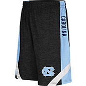 Colosseum Athletics Youth North Carolina Tar Heels Black Setter Shorts