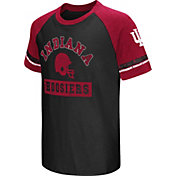 Colosseum Youth Indiana Hoosiers Crimson All Pro Raglan Football T-Shirt