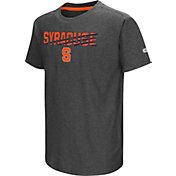 Colosseum Youth Syracuse Orange Grey Hat Trick T-Shirt