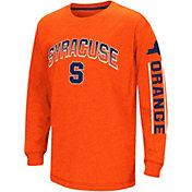 Colosseum Youth Syracuse Orange Orange Grandstand Long Sleeve T-Shirt
