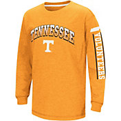 Colosseum Youth Tennessee Volunteers Tennessee Orange Grandstand Long Sleeve T-Shirt