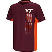 Colosseum Youth Virginia Tech Hokies Maroon Setter T-Shirt