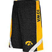 Colosseum Athletics Youth Iowa Hawkeyes Black Setter Shorts