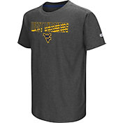 Colosseum Youth West Virginia Mountaineers Grey Hat Trick T-Shirt