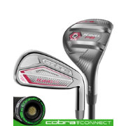 Cobra Women's KING F8 Hybrid/Irons – Raspberry – (Graphite)