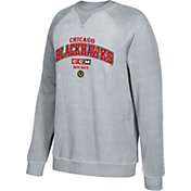 CCM Men's Chicago Blackhawks Practice Grey Sweatshirt