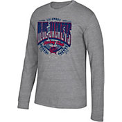 CCM Men's Columbus Blue Jackets Centennial Fly High Heather Grey Long Sleeve Shirt