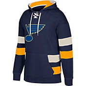 CCM Men's St. Louis Blues Jersey Navy Pullover Hoodie