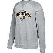 CCM Men's Boston Bruins Practice Grey Sweatshirt