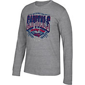 CCM Men's Washington Capitals Centennial Fly High Heather Grey Long Sleeve Shirt