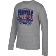 CCM Men's Washington Capitals Centennial Fly High Heather Grey Long Sleeve Shirt