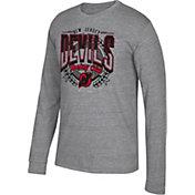 CCM Men's New Jersey Devils Centennial Fly High Heather Grey Long Sleeve Shirt