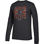 CCM Men's Philadelphia Flyers Line Brawl Black Long Sleeve Shirt