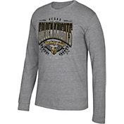 CCM Men's Vegas Golden Knights Centennial Fly High Heather Grey Long Sleeve Shirt