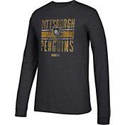 CCM Men's Pittsburgh Penguins Line Brawl Black Long Sleeve Shirt