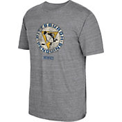 CCM Men's Pittsburgh Penguins Big Logo Heather Grey T-Shirt