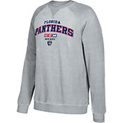 CCM Men's Florida Panthers Practice Grey Sweatshirt