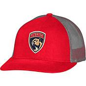 CCM Men's Florida Panthers Trucker Red Mesh Adjustable Hat