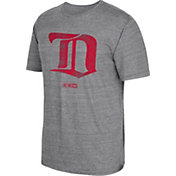 CCM Men's Detroit Red Wings Big Logo Heather Grey T-Shirt