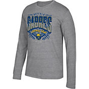 CCM Men's Buffalo Sabres Centennial Fly High Heather Grey Long Sleeve Shirt