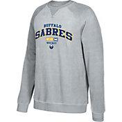CCM Men's Buffalo Sabres Practice Grey Sweatshirt