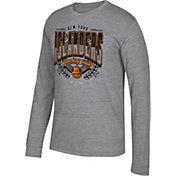 CCM Men's New York Islanders Centennial Fly High Heather Grey Long Sleeve Shirt