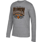 CCM Men's New York Islanders Centennial Fly High Heather Grey Long Sleeve Shirt