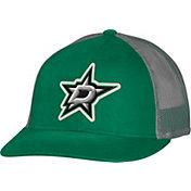 CCM Men's Dallas Stars Trucker Black Mesh Adjustable Hat