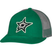 CCM Men's Dallas Stars Trucker Black Mesh Adjustable Hat