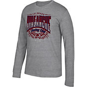 CCM Men's Colorado Avalanche Centennial Fly High Heather Grey Long Sleeve Shirt