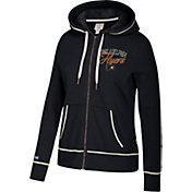 CCM Women's Philadelphia Flyers Logo Fleece Black Full-Zip Hoodie