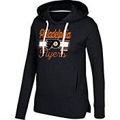 CCM Women's Philadelphia Flyers Bottom Stripe Black Pullover Hoodie