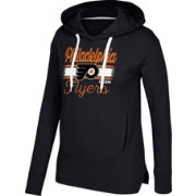 CCM Women's Philadelphia Flyers Bottom Stripe Black Pullover Hoodie