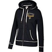 CCM Women's Pittsburgh Penguins Logo Fleece Black Full-Zip Hoodie