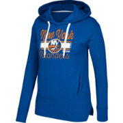 CCM Women's New York Islanders Bottom Stripe Royal Pullover Hoodie