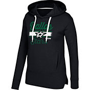 CCM Women's Dallas Stars Bottom Stripe Black Pullover Hoodie