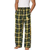 Concepts Sport Men's Baylor Bears Green/Gold Huddle Sleep Pants