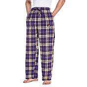 Concepts Sport Men's East Carolina Pirates Purple/Gold Huddle Sleep Pants