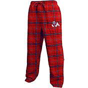 Concepts Sport Men's Fresno State Bulldogs Cardinal/Blue Huddle Sleep Pants