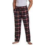 Concepts Sport Men's Georgia Bulldogs Black/Red Huddle Sleep Pants