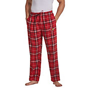 Concepts Sport Men's Louisville Cardinals Cardinal Red/Black Huddle Sleep Pants