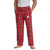 Concepts Sport Men's Rutgers Scarlet Knights Scarlet/Black Huddle Sleep Pants