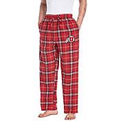 Concepts Sport Men's Utah Utes Crimson/Black Huddle Sleep Pants