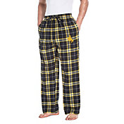 Concepts Sport Men's Wyoming Cowboys Black/Gold Huddle Sleep Pants