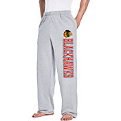 Concepts Sport Men's Chicago Blackhawks Front Runner Grey Sweatpants
