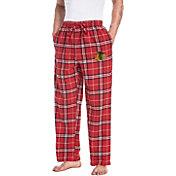 Concepts Sport Men's Chicago Blackhawks Flannel Pants