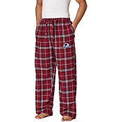Concepts Sport Men's Colorado Avalanche Flannel Pants