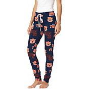 Concepts Sport Women's Auburn Tigers Blue Slide Sleep Pants