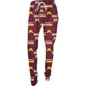 Concepts Sport Women's Minnesota Golden Gophers Marooon Slide Sleep Pants